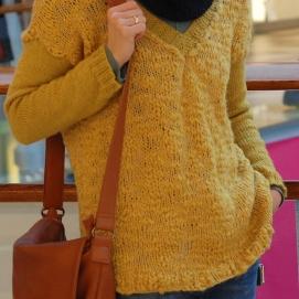 Storas megztinis iš Borgo de'Pazzi Marty mezgimo siūlų