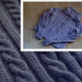 Moteriškas megztinis, 100% vilna