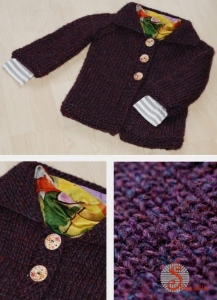 Storas vilnos megztinis
