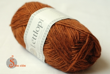 lettlopi rust heather